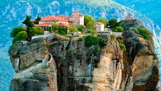 Las construcciones más raras del mundo Monasterios Meteora
