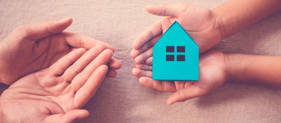 donar una vivienda a un hijo