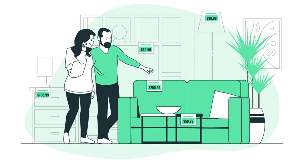 Cómo amueblar un piso para estudiantes